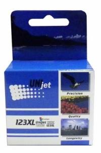 Картридж HP 123XL Bk (F6V19AE) для DeskJet-1110, DJ-2130, DJ-2132, DJ-2134, DJ-2136, DJ-3630, DJ-3830, DJ-3832, DJ-3833, DJ-3834  UNIjet