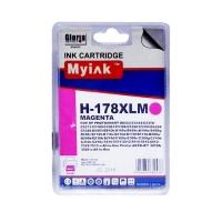 Картридж для (178 XL) HP PhotoSmart D5463 CB324 Magenta (14,6ml, Dye) MyInk