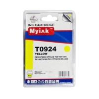 Картридж для (T0924) EPSON St C91/CX4300 желт (6,6ml, Pigment) MyInk