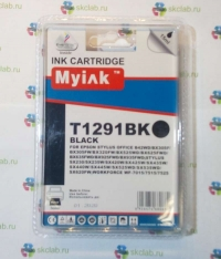Картридж для (T1291) EPSON St SX420/ SX525/ SX620/ Office BX305/ BX525 ч (15ml, Pigment) MyInk