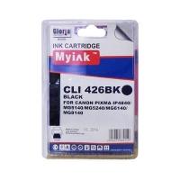 Картридж для CANON CLI-426BK (4556B001) черный (9ml, Dye) MyInk