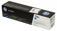 Картридж для HP Color LJ CP 1025 PRO CE311A (126A) синий (1K) original