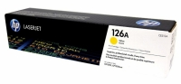 Картридж для HP Color LJ CP 1025 PRO CE312A (126A) желтый (1K) original