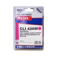 Картридж для CANON CLI-426M (4558B001) красный (9ml, Dye) MyInk