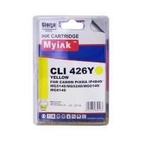 Картридж для CANON CLI-426Y (4559B001) желтый (9ml, Dye) MyInk