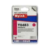 Картридж (T0483) красн (16ml, Dye) MyInk для EPSON  Stylus Photo, R200, R220, R300, R320, R340, RX500, RX600, RX620, RX640