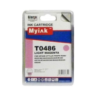 Картридж (T0486) св.красн (16ml, Dye) MyInk для EPSON  Stylus Photo, R200, R220, R300, R320, R340, RX500, RX600, RX620, RX640