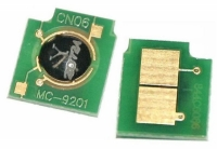 Чип к-жа HP Color 1600/ 2600/ 2605/ 2700/ 3000/ 3600/ CM1015/ CM1017/ Canon LBP-5000/ 5100 cyan UNItech(Apex)