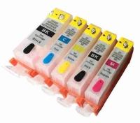 Картридж для CANON CLI-521 C PIXMA iP3600/ 4600/ MP540/ 620/ 630/ 980 син (8,4ml, Dye) MyInk