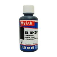Чернила для EPSON (T6641/ T6731) L100/ L200/ L800/ L1800 (100мл, black, Dye) EI-BK503 Gloria™ MyInk