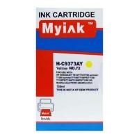 Картридж для ( 72) HP DesignJet T610/T1100 C9373A желт (130ml, Dye) MyInk