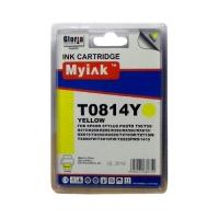Картридж для (T0824) жёлт (16ml, Dye) MyInk для EPSON Stylus Photo-T50, T59, R270, R290, R295, R390, RX590, RX610, RX615, TX650, TX659, RX690, TX700, TX710, TX800