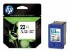 Заправка картриджей HP 22/ 22XL Color (C9352AE, C9352CE) DeskJet-F300 ser, DeskJet-D1330 ser, DeskJet-D1400 ser, DeskJet-D1500 ser, DeskJet-F2100 ser, DeskJet-D2400 ser, DeskJet-3910 ser, DeskJet-F4100 ser, FAX-3180, OfficeJet-J3600 ser, OfficeJet-4300 se
