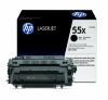 Заправка картриджа HP 55X CE255X