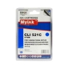 Картридж для CANON CLI-521 C PIXMA iP3600/ 4600/ MP540/ 620/ 630/ 980 син (8,4ml, Dye) MyInk