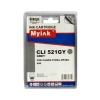 Картридж для CANON CLI-521 GY PIXMA MP980/ MP990 серый (8,4ml, Dye) MyInk