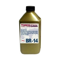 Тонер для BROTHER Универсал тип BR-14 (фл,750,TOMOEGAWA) Gold АТМ